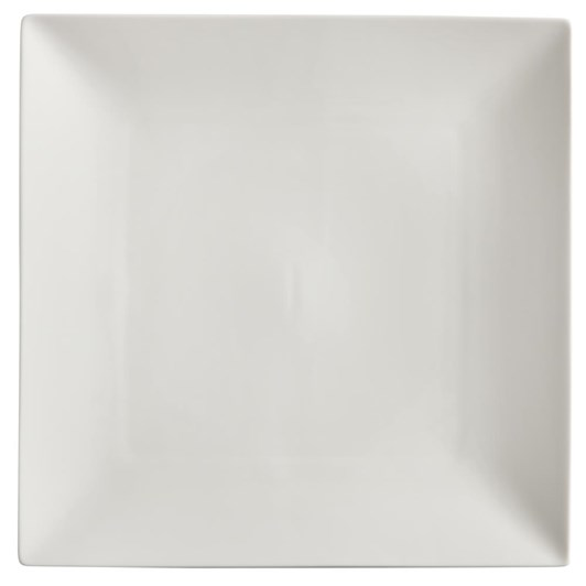 Maxwell & Williams White Basics Linear Square Plate 26cm