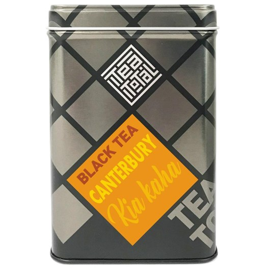 Tea Total Canterbury Kia Kaha Tin 100g