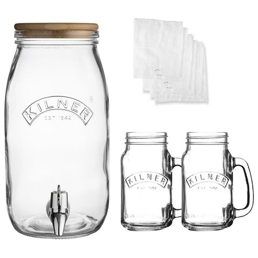 Kilner Kombucha Drinks Making Kit
