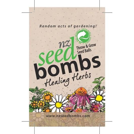 Healing Herbs NZ Seed Bomb