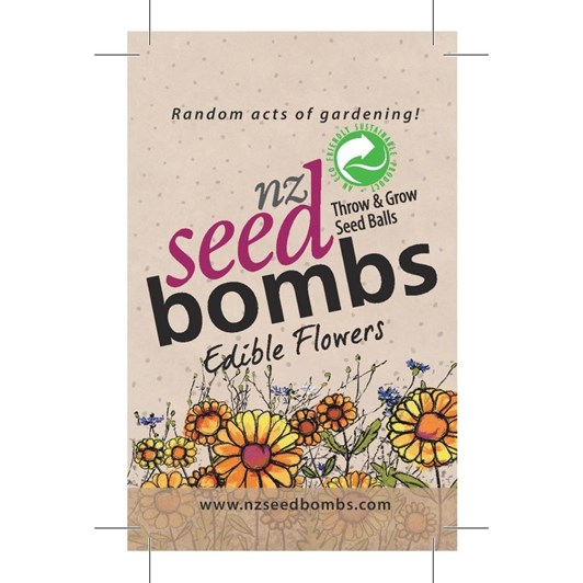 Edible Flowers NZ Seed Bomb