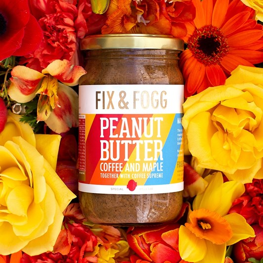 Fix and Fogg Coffee & Maple Peanut Butter 275g