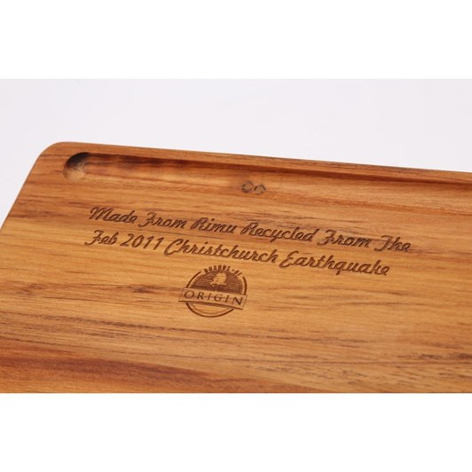Akaroa Double Grooved Long Serving Board