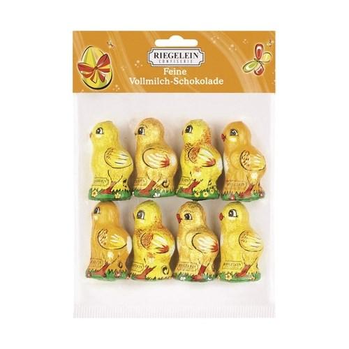 Riegelein Easter Chickens In Bag 8-Pk 100G