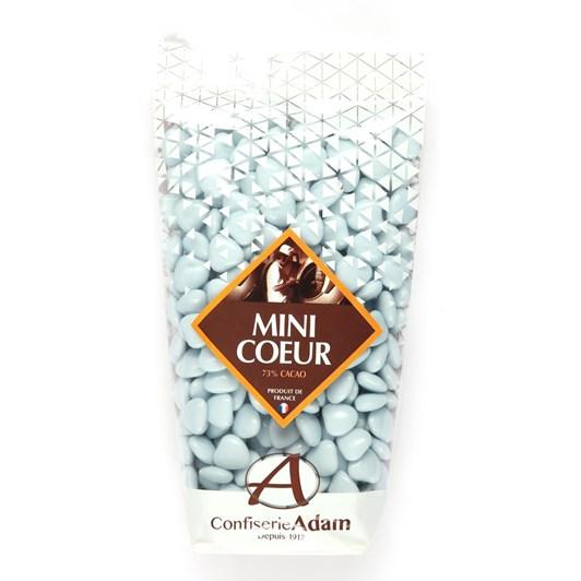 Adams Dragees Lavender Mini Chocolate Hearts 250g