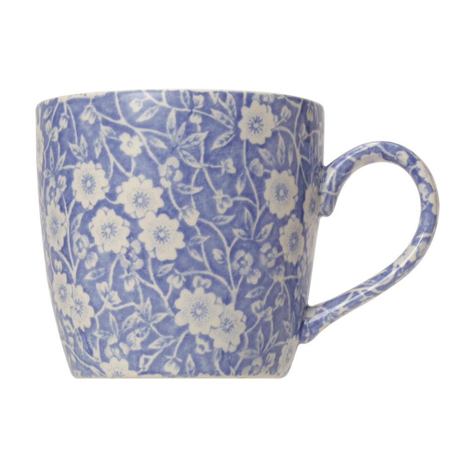 Burleigh Calico Burgess Blue 50th Anniversary Mug -