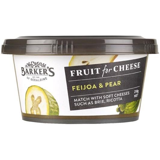 Barkers Feijoa Pear Fruit Paste 210g