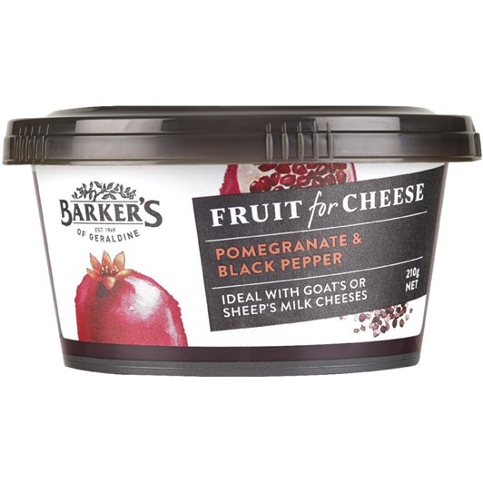 Barkers Pomegranate Pepper Fruit Paste 210g