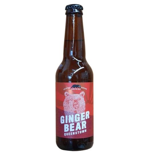Crimson Badger Ginger Bear Alcoholic Ginger Beer (4.0%) 330ml