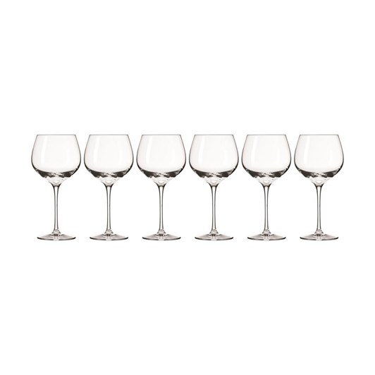 Krosno Harmony Wine Glass 570ml Set Of 6 Gift Boxed