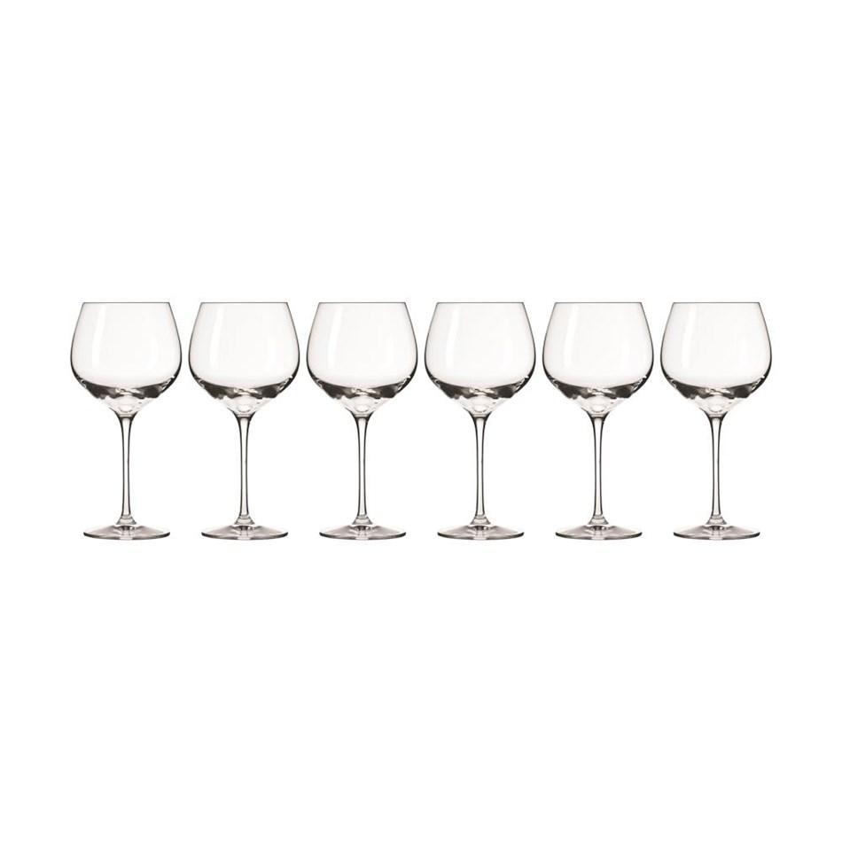 Krosno Harmony Wine Glass 570ml Set Of 6 Gift Boxed -
