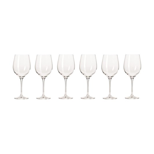 Krosno Harmony Wine Glass 450ml Set Of 6 Gift Boxed