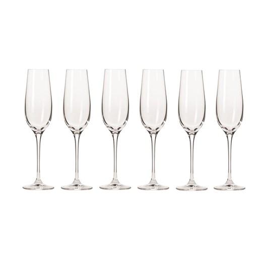 Krosno Harmony Champagne Flute 180ml Set Of 6 Gift Boxed