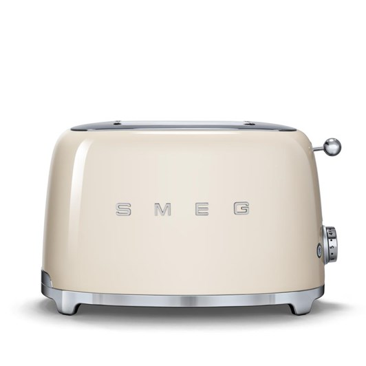 Smeg 2 Slice Toaster Cream