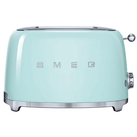 Smeg 2 Slice Toaster Pastel Green