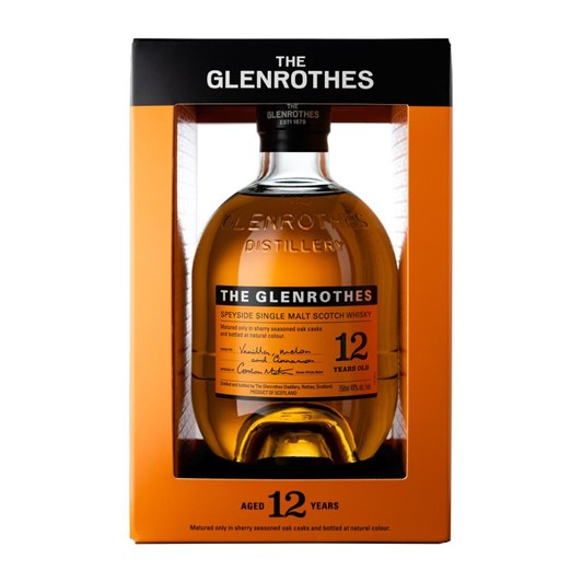 Glenrothes 12 Year Old 40% 700ml