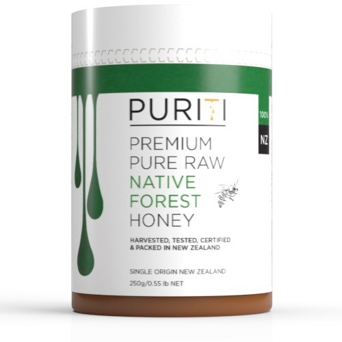 PURITI Manuka Honey Native Forest 250g