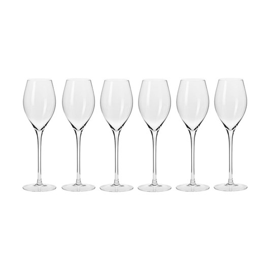 Krosno Harmony Prosecco Glass 280ml 6Pc Gift Boxed