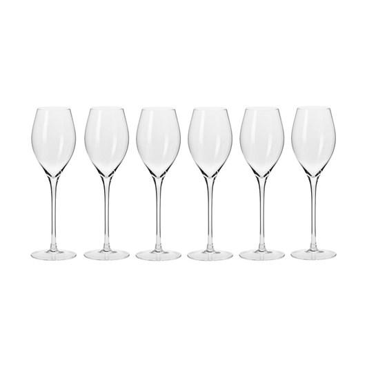 Krosno Harmony Prosecco Glass 280ml 6Pc Gift Boxed
