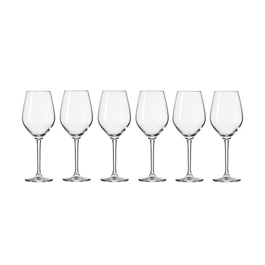 Krosno Splendour Wine Glass 300ml 6Pc Gift Boxed