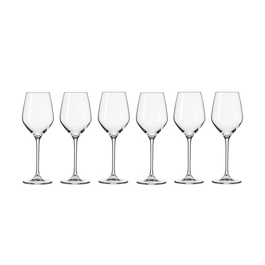 Krosno Splendour Wine Glass 200ml 6Pc Gift Boxed