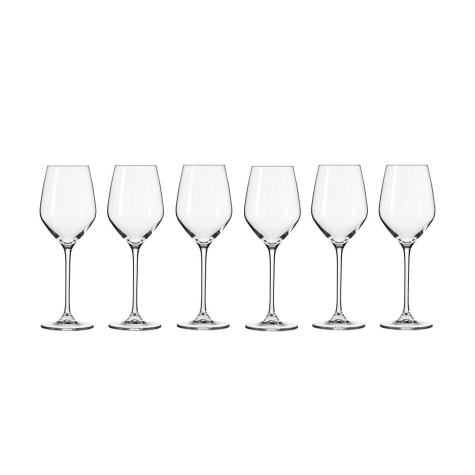 Krosno Splendour Wine Glass 200ml 6Pc Gift Boxed -