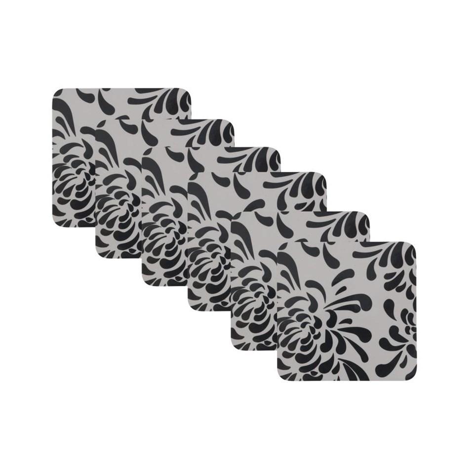 Maxwell & Williams Kiku Coaster Set Of 6 10.5cm Gift Boxed -