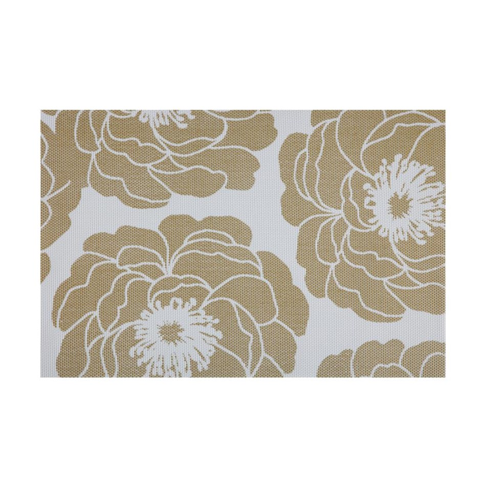 Maxwell & Williams Camellia Placemat 45x30cm Gold -
