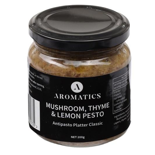 Aromatics Mushroom Thyme & Lemon Pesto 200g
