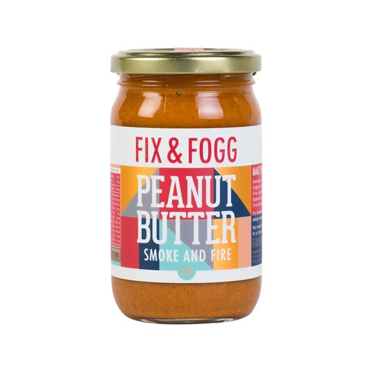 Fix and Fogg Smoke And Fire Peanut Butter 275g