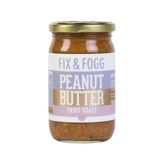 Fix and Fogg Fruit Toast Peanut Butter 275g