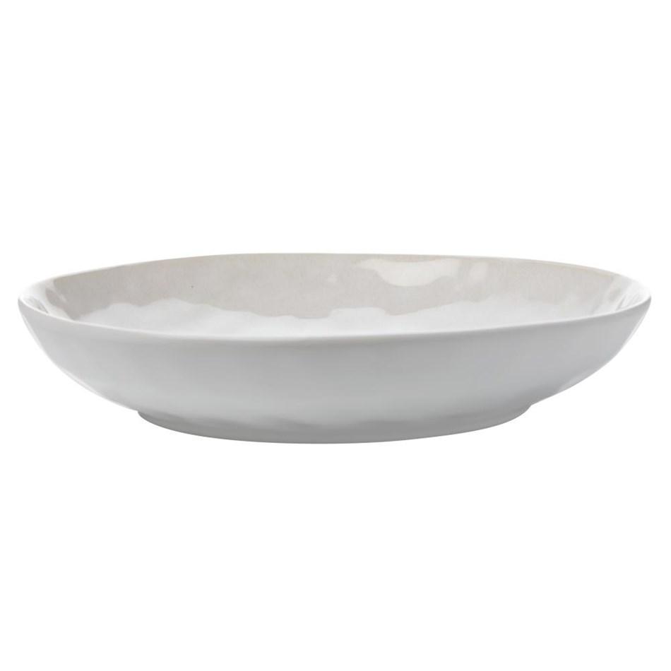 Maxwell & Williams Wayfarer Shallow Bowl 26.5cm - pebble