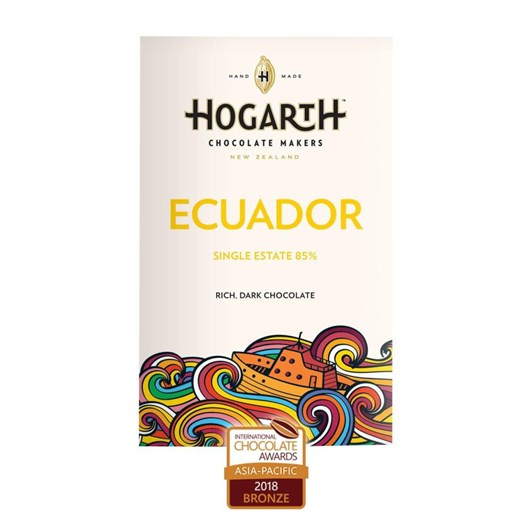 Hogarth Ecuador Hacienda Victoria 85% Single Origin 70g