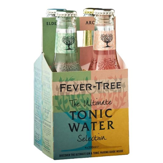Fever Tree Tonic Water Selection Pack Of 4