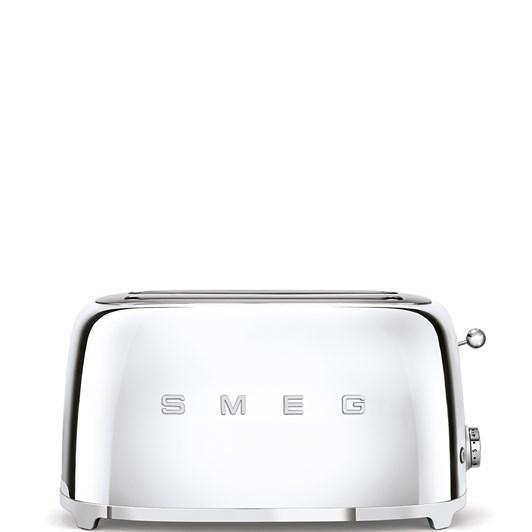 Smeg 4 Slice Toaster Silver