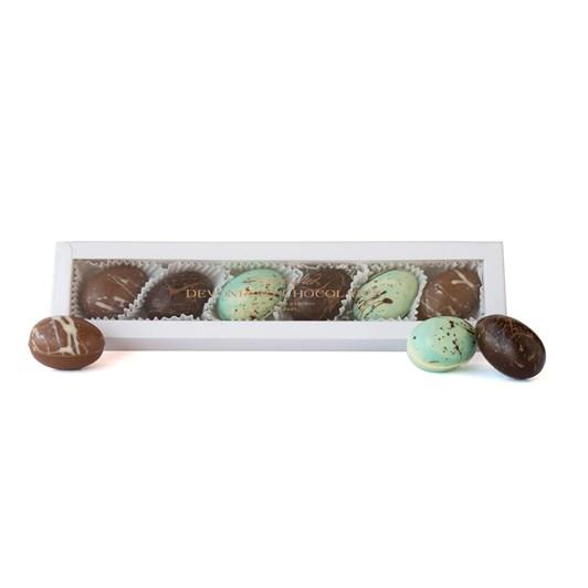 Devonport Chocolates Speckled Caramel Tipsy Truffle Eggs 140g