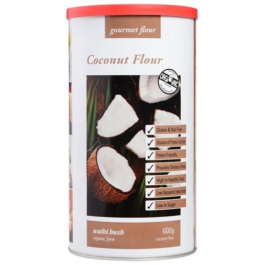 Waihi Bush Organic Farm Coconut Flour 600g