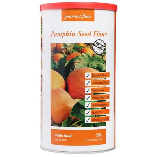 Waihi Bush Organic Farm Pumpkin Seed Flour 600g
