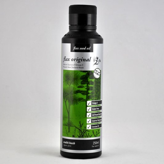 Waihi Bush Flax Original Oil 250ml