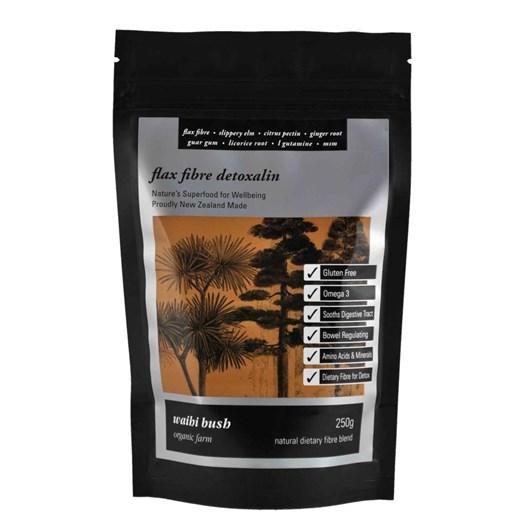 Waihi Bush Flax Fibre Detoxalin Smoothie Blend 250g