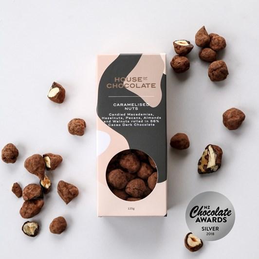 House of Chocolate Caramelised Nuts