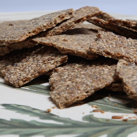 Hemp Seed Cracker Bread 120gm
