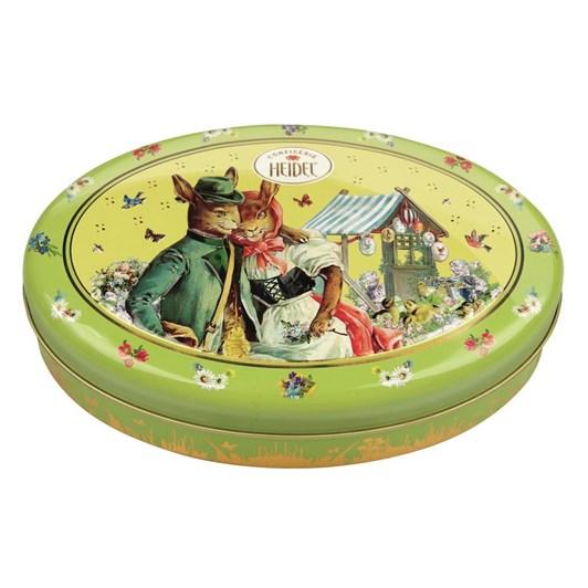 Heidel Easter Nostalgia Round Tin Gift Box 215g