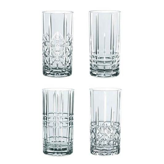Nachtmann Highland Long Tumblers Set Of 4