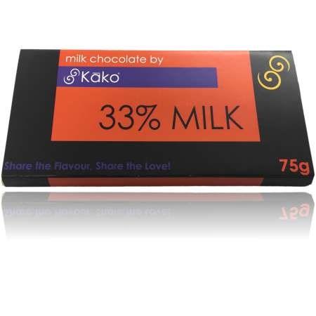 Kako Chocolate Luxury Tablet Milk Chocolate 75g