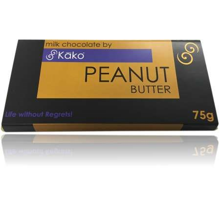 Kako Chocolate Luxury Tablet Peanut Butter Milk 75g