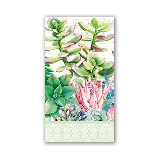 MDW Pink Cactus Hostess Napkins