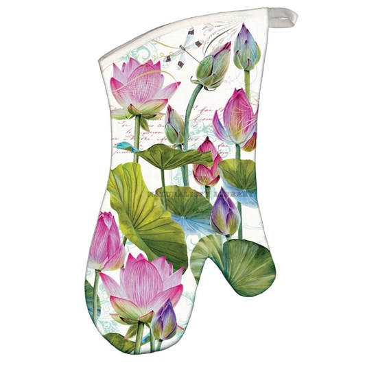 MDW Water Lilies Oven Mitt