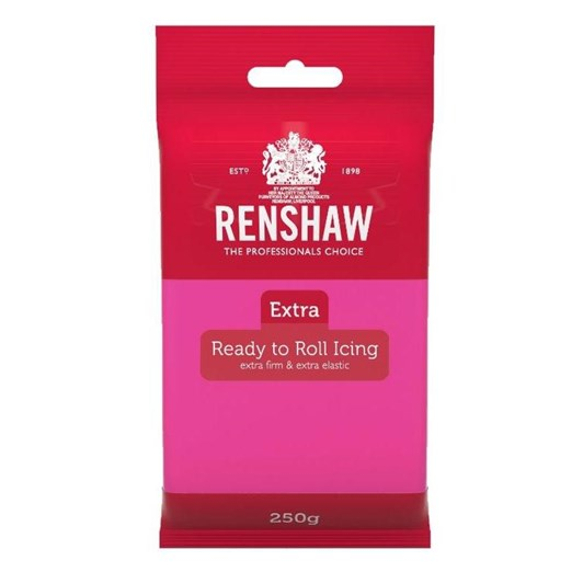 Renshaw Extra Fuchsia Pink Icing 250g