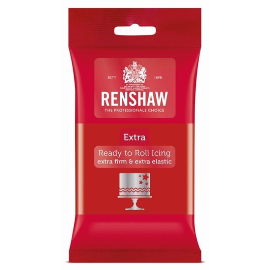 Renshaw Extra Red Icing 250g